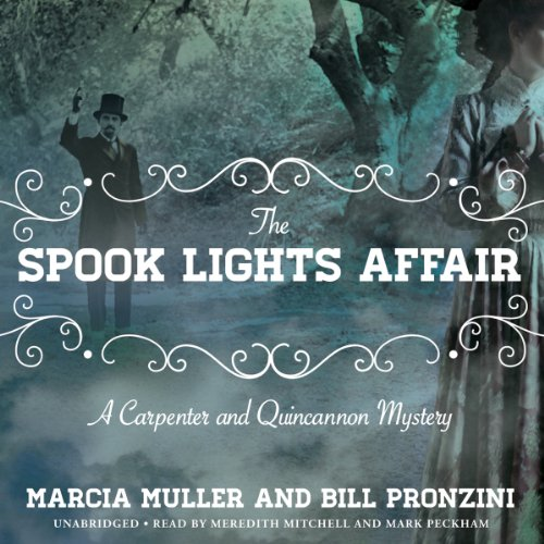 The Spook Lights Affair audiobook cover art