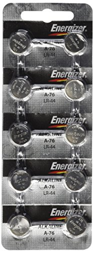 Relógio Energizer/Eletrônico, A76/LR44 (A76BP) Pacote com 10 unidades! !