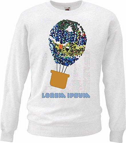 Reifen-Markt Sweatshirt Damen Motiv-300242 Größe XS Farbe Weiss Druck