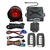 Best Car Alarm Systems - BANVIE PKE Car Security Alarm System with Passive Review