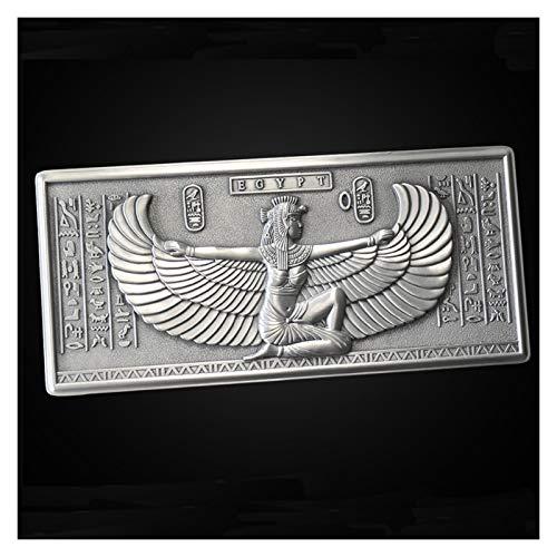 Caja de joyería Antigua Misterioso Organizador de Metal Vintage Grande Pendientes de joyería Anillo Caja de Collar pequeño Joyería pequeña Caja de Almacenamiento (Color : Silver)