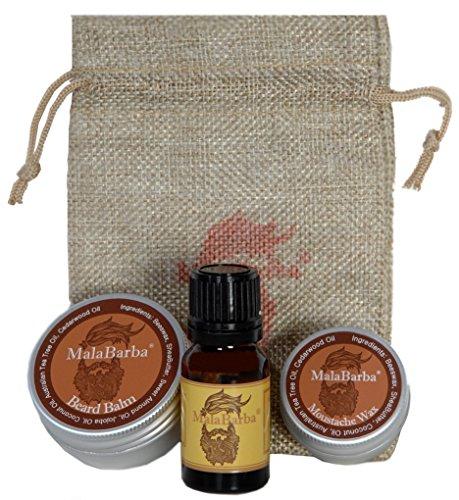 Set de regalo para el cuidado de la barba. CedarWood. Gift set Beard...