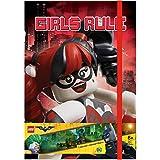 Lego Batman Harley Quinn And Batgirl Journal