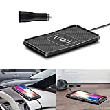 Wireless Charger car Wireless Charging pad qi 10W Quick Charger Thin Wireless car Charger Charging...