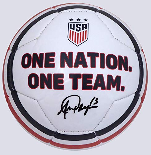 Alex Morgan Team USA Soccer Hand Signed Ball