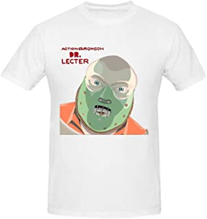 Heeloo Men's Action Bronson Dr Lecter Personalized Big T Shirt