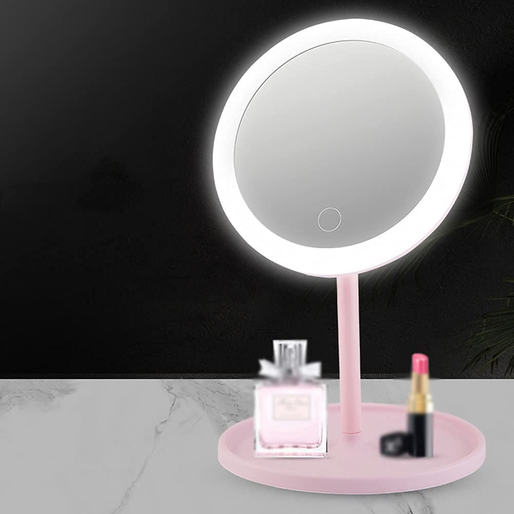 Lighted Makeup Mirror for Women Girls URMAGIC Rechargeable Shipping included USB V Bargain