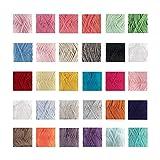 Delightfully Fine 60% Bamboo, 40% Tecel Blend Yarn - 4 Skein Assorted Color Surprise Package