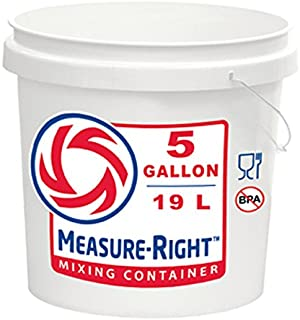measure right 5 gallon bucket