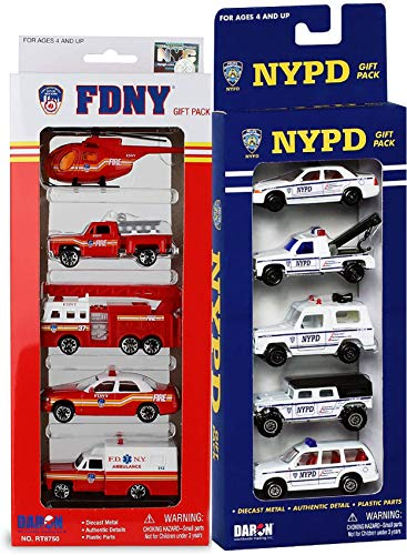Daron Emergency Vehicle Set