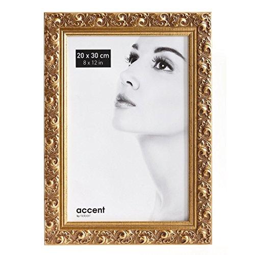 Accent Holz Bilderrahmen Arabesque, 20x30 cm, Gold