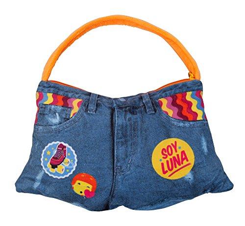 Joy Toy 16086 Tasche Soy Luna 2in1 in Jeans-Look, bunt, 38 cm