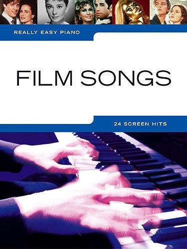 Really easy Piano: FILM SONGS mit Bleistift -- 24 beliebte Filmmelodien sehr leicht gesetzt für Klavier u.a. aus HERR DER RINGE und KÖNIG DER LÖWEN - ideal für Anfänger und Wiedereinsteiger (Noten/sheet music)