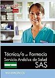Técnico-a en Farmacia, Servicio Andaluz de Salud (SAS). Test específicos