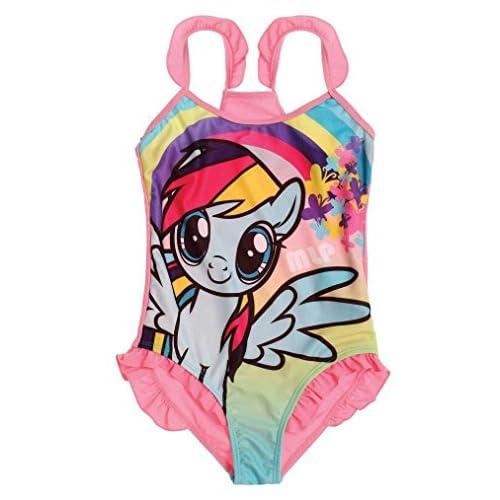 My Little Pony, costume da bagno, per bambine, prodotto ufficiale Design 2