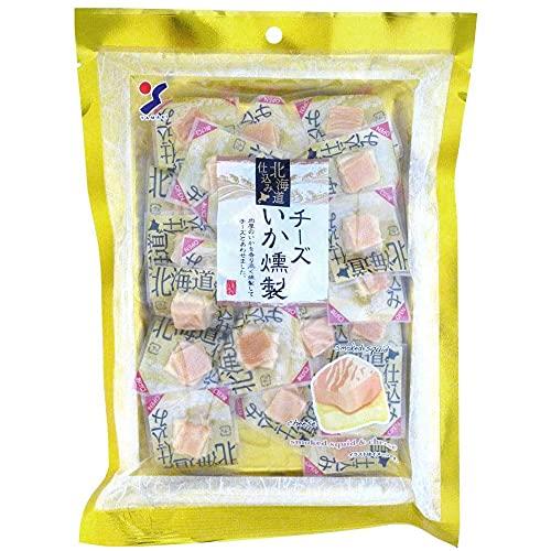 山栄食品工業 おつまみ チーズ いか 国産 北海道仕込み チーズいか燻製 120g ×10袋