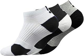Calcetines Deportivos Antideslizantes de Algodón para Hombre Desodorante Respirables para Baloncesto Fútbol Yoga de Balonmano Correr engrosamiento de Ciclismo