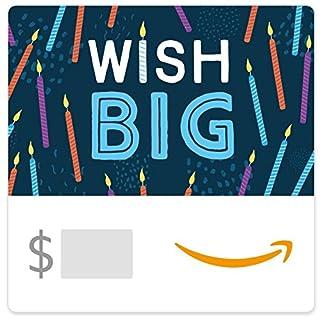 Amazon eGift Card - Wish Big (B01FIS82WQ) | Amazon price tracker / tracking, Amazon price history charts, Amazon price watches, Amazon price drop alerts