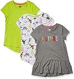 Spotted Zebra Short-Sleeve Tunic T-Shirts Fashion, Paquete de 3 Future, 4 años, Pack de 3