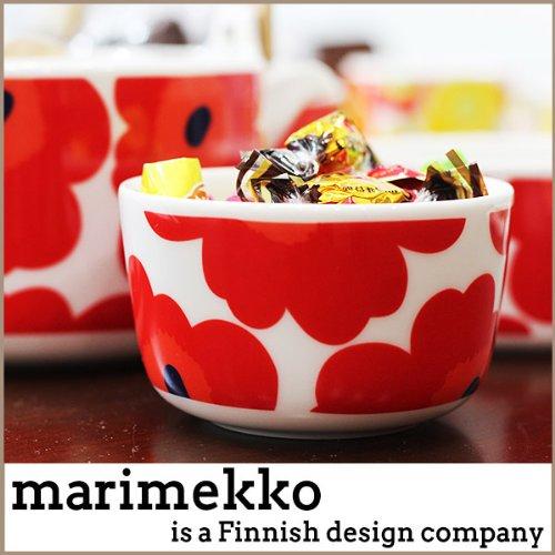 マリメッコ marimekko ボウル デザートボウル サラダボウル ウニッコ UNIKKO レッド 063432/63432 001 北欧 雑貨