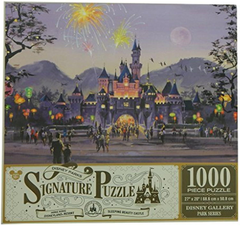 Disney Parks Signature Hong Kong Disneyland Castle 1000 piece Puzzle by Disney