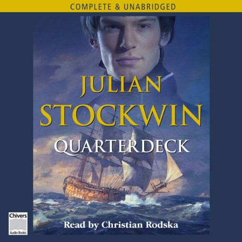 Quarterdeck audiobook cover art