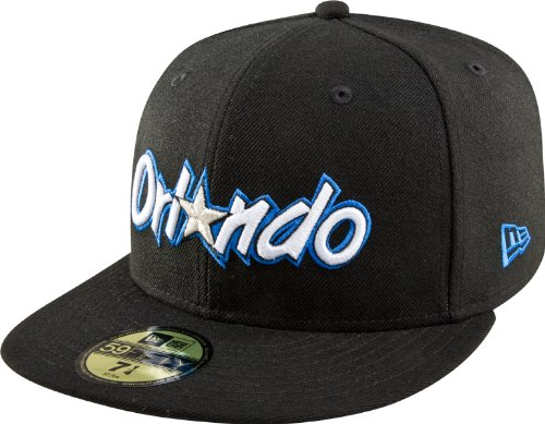 New Era NBA Orlando Magic en Bois Dur Classics Basic 59 Fifty Casquette, Homme, Orlando Magic