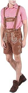 YOPENG 男性用ハロウィンコスチュームドイツバイエルンオクトーバーフェスト衣類ビールウェアビブパンツセットハロウィーンカーニバルナイト (Color : 02, Size : XL)