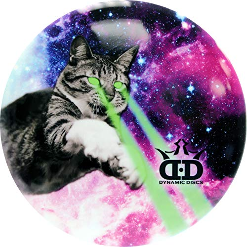 Dynamic Discs DyeMax Space Kitty Dreams | Disc Golf Disc | Frisbee Golf Disc | 170 Grams and Above | Disc Golf Putter | Disc Golf Midrange | Disc Golf Driver | Fuzion Trespass