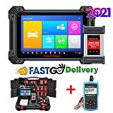 Autel Maxisys Pro MK908P 2021, Update of MS908S Pro & Same as Maxisys Elite, J2534 Reprogramming Tool with No IP Restriction, 30+ Service Functions, Active Test, Free Car Battery Tester AB101 is Given