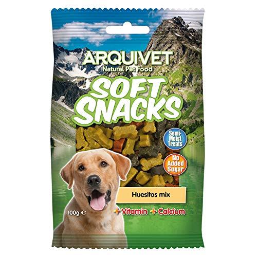 Arquivet Soft Snacks per Cani a Forma di Osso Mix 100 g
