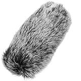 Funda antiviento para micrófono LLMZ 1 PCS parabrisas del micrófono antivientos para los micrófonos Filtro micrófono Para grabación con micrófono en interiores y exteriores