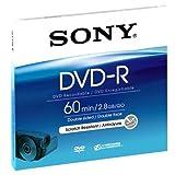 Sony DMR60A - DVD-R vírgenes (Discos DVD-R de 8 cm DMR60A de una Sola grabación, Doble Cara)