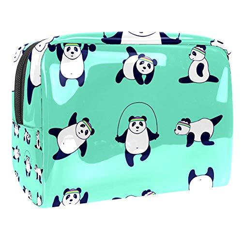 Maquillage Cosmetic Case Multifunction Travel Toiletry Storage Bag Organizer for Women - Cartoon Cute Panda