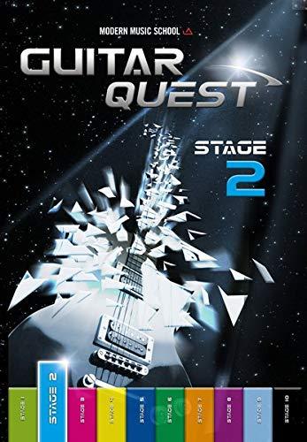 Guitar Quest Stage 2: Die Gitarrenschule für Anfänger - Spielend leicht Gitarre lernen - Gitarrenbuch Songbuch mit Bonus-Material (DEU)