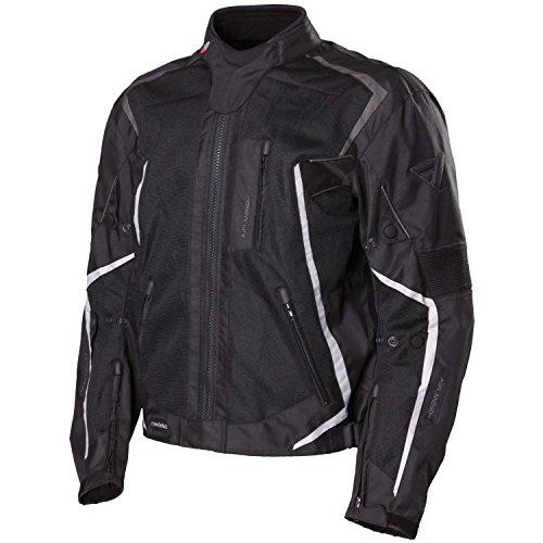 Modeka Mesh 2 Evo Motorradjacke Größe: M Farbe: Schwarz Textiljacke