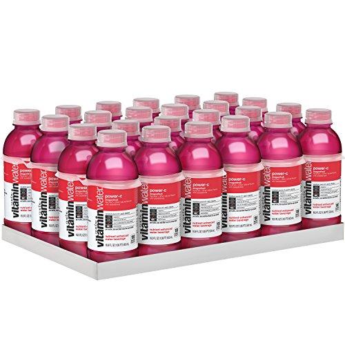 vitaminwater powerc electrolyte enhanced water w/ vitamins dragonfruit drinks 169 Fl Oz Pack of 24