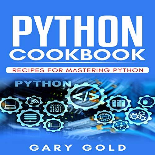 Python Cookbook audiobook cover art