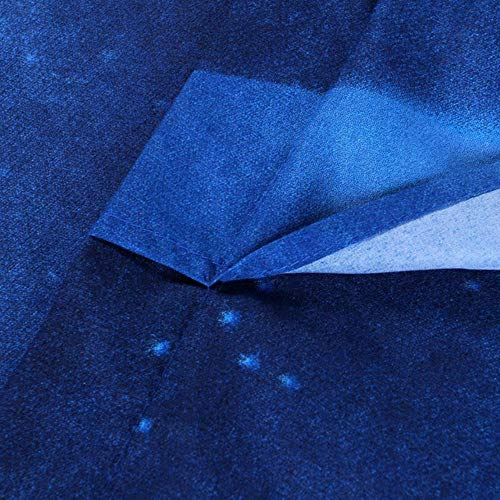 PENVEAT Funda nórdica de edredón de poliéster tamaño Queen de 3 Piezas y 2 Fundas de Almohada Funda de Almohada Ropa de Cama Azul, Azul, 200x230cm
