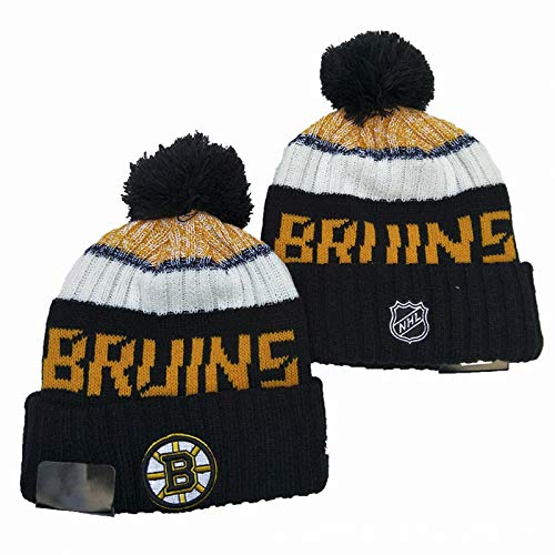 MIAOR NHL Boston Bruins Strickmütze Sport Beanie Cap Multicolor Ohrenschutz Running...