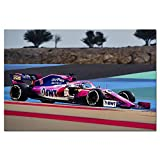 Formel 1 Racing Point RP19 Rennwagen Wallpaper Dekorative