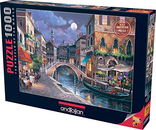 Perre Group Streets of Venize II Jigsaw Puzzle (1000-Piece)