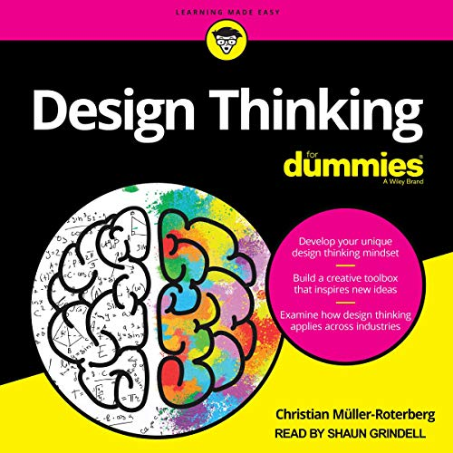 Design Thinking for Dummies cover art