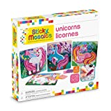 ORB Sticky Mosaics Unicorns, Pink/Teal/Blue/Purple, 12' x 2' x 10.75'