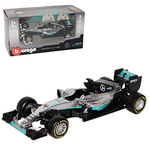 Mercedes-Benz AMG F1 W07 Lewis Hamilton Nr 44 Formel 1 2016 1/43 Bburago Modell Auto
