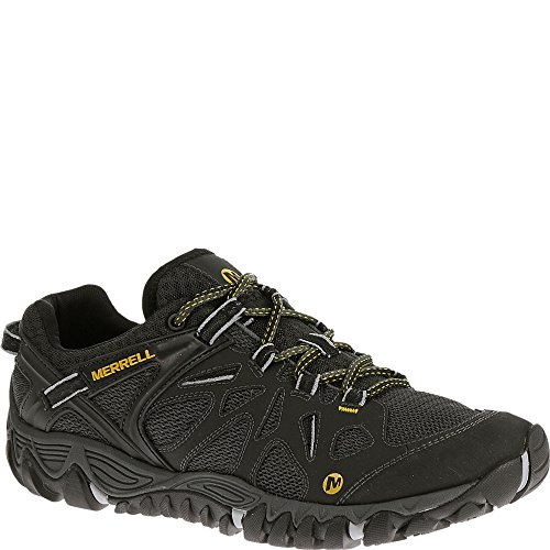 Merrell Men's All Out Blaze Aero Sport Hiking Water Shoe, Black, 10 M US