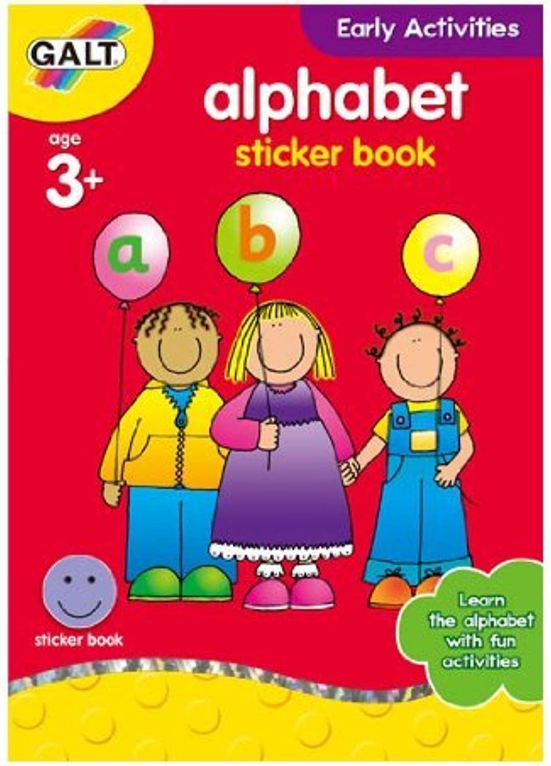 Galt Toys Home Learning Alphabet Sticker Books by Galt Toys