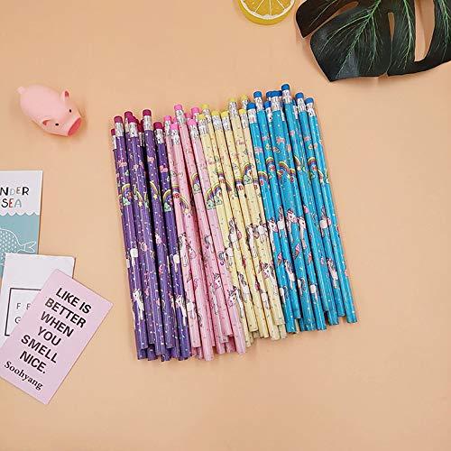 NIUPAN 12 snoep HB potlood houten student potlood om kinderen cadeau schoolbenodigdheden potlood briefpapier te sturenstandaard potlood