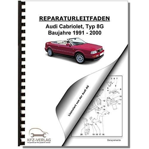 Audi Cabriolet (91-00) Elektrische Anlage, Elektrik, Systeme Reparaturanleitung