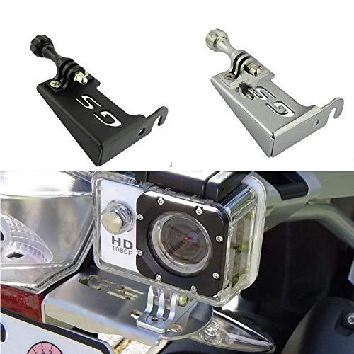 【FulFilled by Amazon】Motorrad Edelstahl Action Cam GoPro Hero SJ4000 Rollei Kompatible Kamera Halterung Boden Linke Seite für B-MW R1200GS GS LC/ADV Adventure 2006 2007 2008 2009 2010–2013 2014–2015